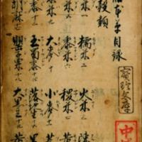 Gozen Honzō or Gyozen Honzō (Edible Plants, Herbs,…