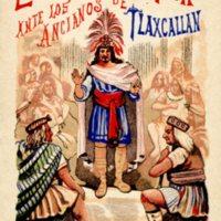 El Guerrero Azteca Ante los Ancianos de Tlaxcallan