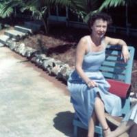 Marjorie Winters. Builder's Club. Guam. 13 Nov. 1949