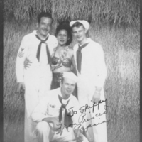 Three Sailors With Princess Papaia