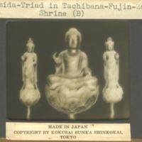 Amida-Triad in Tachibana-Fujin Zushi Shrine
