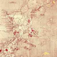 Detail map of Okinawa Island