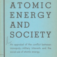 Atomic energy and society