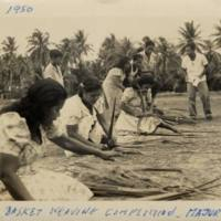 1950 Basket Weaving Competition - Majuro