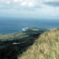 Looking towards Nimitz Beach from Lamlam Fapci [Facpi]…