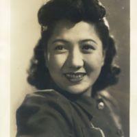 Kaizawa 3-036: Close up image of a Toho actress Hideko…