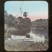 Boat on Ribeira river: リベイラ川遊船