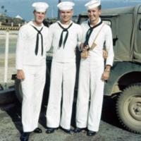 Jewell, Crawford, Crysel. Guam. 9 Dec. 1949
