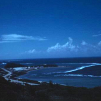 Asan from New ComMar Road. Guam. 22 Nov. 1949