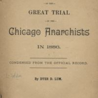 Concise History of the Great Trial of the Chicago…