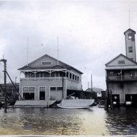 Harbor warehouses