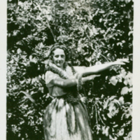 [114]  Woman in Hula Costume