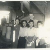 Kaizawa 2-133: Group photo of Alexander Calhoun with…