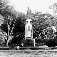Sugar King monument, Saipan, 1967. (N-216).