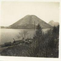 Kaizawa 2-076: View of Mt. Haruna 榛名山, Allied…