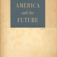 America and the future: based on studies understaken by…