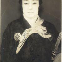 Kaizawa 1-035: Kabuki actor - Onoe, Shoroku II, 尾上, 松緑…