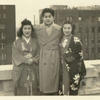 Kaizawa 3-022: Group photo of Ikuko Endo, Stanley…