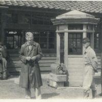 Kaizawa 2-127: Alexander Calhoun posing in front of…