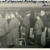 A goup of Americans at the Imperial Hunting Lodge,…