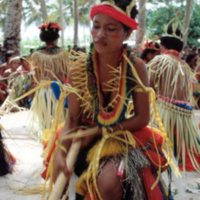 Dancing Girl at Outer Islands High School (OIHS)…