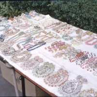 Jewelry on display for sale