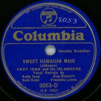 Sweet Hawaiian Maid