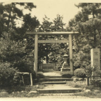A torii gate, Japan