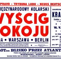 Wyścigi Pokoju: 26 Międzynarodowy Kolarski - Praha, …