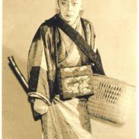 Kaizawa 1-011: Kabuki actor - Nakamura, Kichiemon I,…