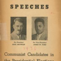 Acceptance speeches: Communist candidates in the…