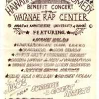 Benefit concert for Wai'anae rap concert