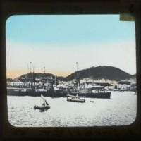 Part of Port Santos: サントス港の一部分