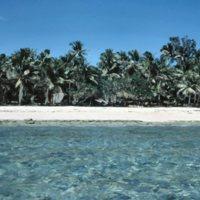 Beach on Satawal - 11