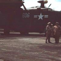 Our ill-fated plane ramp. Koror, [Palau]. 23 Dec. 1949