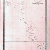 Carte de L'Archipel des Iles Gilbert