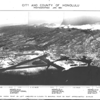 City and County of Honolulu photographed Jan. 1951