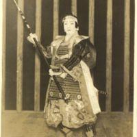 Kaizawa 1-052: Kabuki actor as Kumagai Kojiro Naoie…