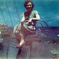 Margo, aboard the USSNT Gen'l WA Mann. SF-Guam.