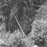 559. Near Ju Shan [?] : waterwheel
