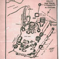 Sketch Plan of Nan Matal; the Metalanim Venice