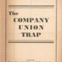 Company union trap.