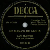 He Mana'o He Aloha