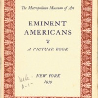 Eminent Americans: a picture book