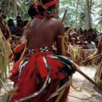 Dancing during graduation ceremonies at Outer Islands…