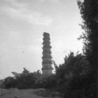 827. Honam Island : [Pagoda]