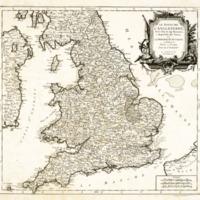 Royaume D'Angleterre : divisé selon les sept Royaumes,…