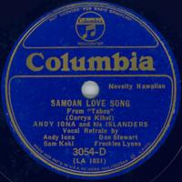 Samoan Love Song