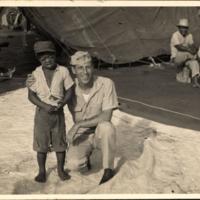 On LST 827 Ujilan Move Toshwo & Skipper