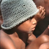 Boy Wearing a Hat the Outer Islands High School (OIHS)…
